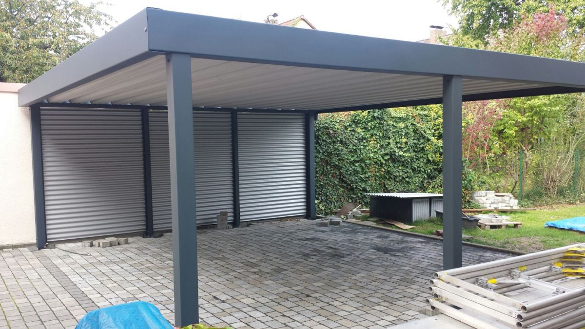 stahlcarport referenzen carport schmiede. Black Bedroom Furniture Sets. Home Design Ideas